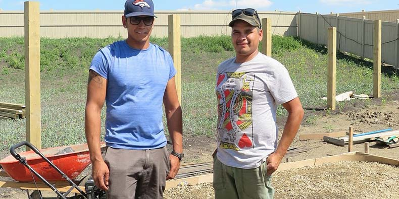 Justin Ladouceur and Billy Kay, co-owners of Advantage Concrete Solutions Ltd.