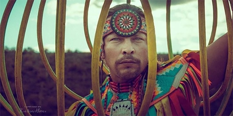 Dallas Arcand, World Champion Hoop Dancer; success story