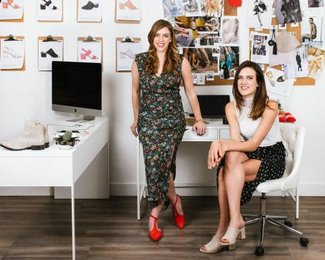 Kendall and Justine, co-founders of Poppy Barley